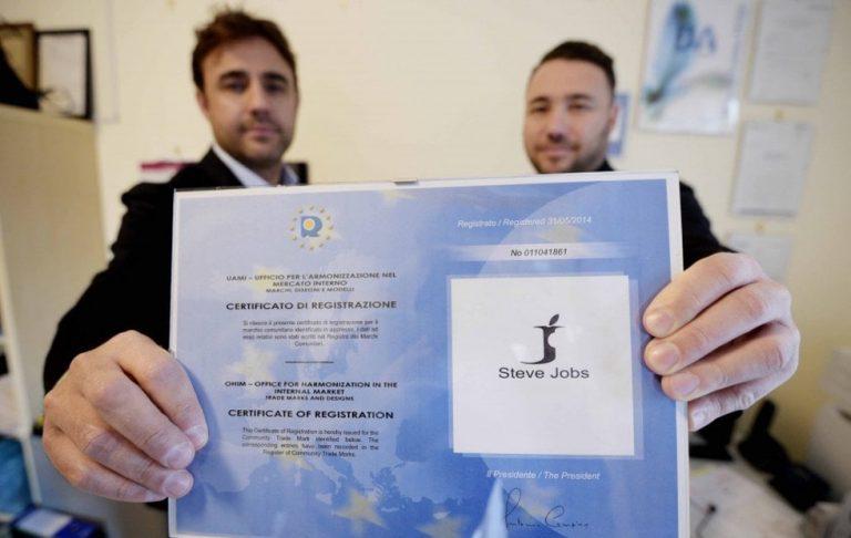 Italianos derrotam a Apple ao registrar primeiro a marca